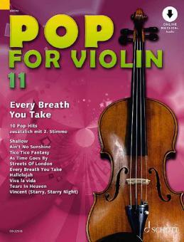 Pop for Violin 11