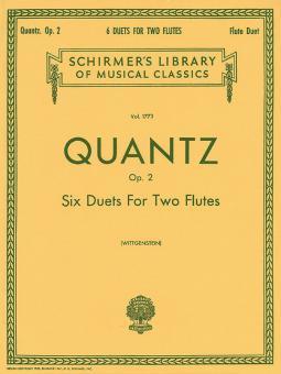 6 Duets for 2 Flutes Op. 2