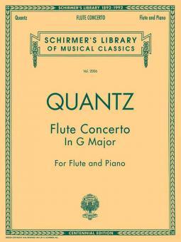 Concerto for Flute in G Major