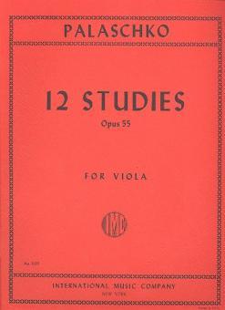 12 Studies, op. 55