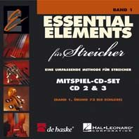 Essential Elements für Streicher - Mitspiel-CD-Set