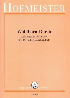 Waldhorn-Duette verschiedener Meister des 18. und 19. Jahrhunderts