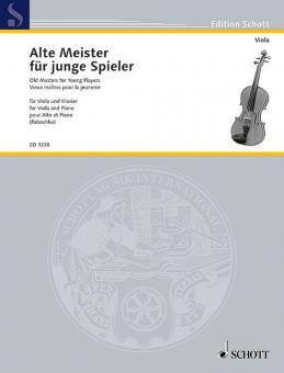 Old Masters For Young PlayersStandard