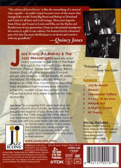 Jazz Icons: Art Blakey & The Jazz Messengers, Live In '58