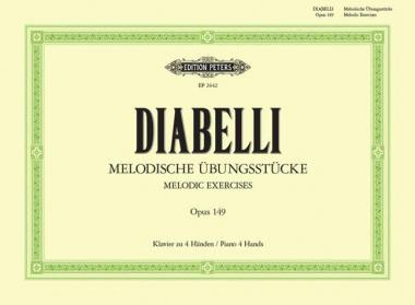 Melodic Exercises Op. 149