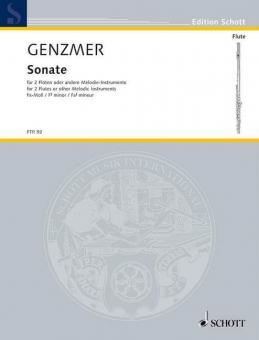 Sonata F# Minor GeWV 266Standard