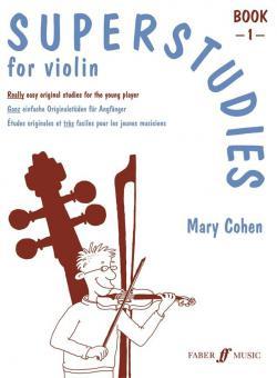Superstudies For Violin Book 1
