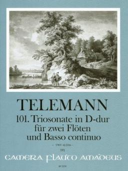101. Triosonate in D-dur TWV 42:D16