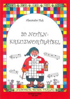 20 Noten-Kreuzworträtsel