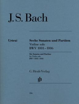Sonatas and Partitas BWV 1001-1006 for Violin solo