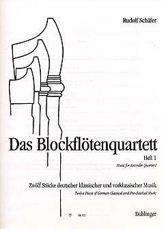 Das Blockflötenquartett 1