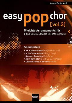 Easy Pop Chor 3 - Sommerhits
