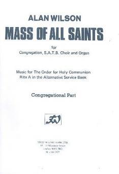 Mass of All Saints