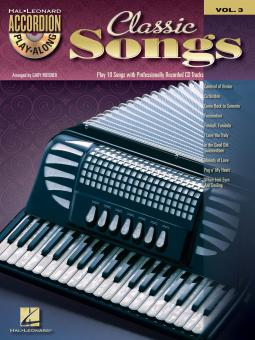 Accordion Play-Along Vol. 3: Classic Songs