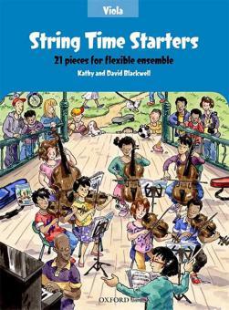 String Time Starters - Viola Book