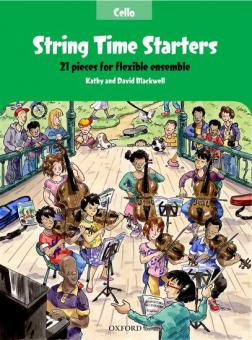 String Time Starters - Cello Book