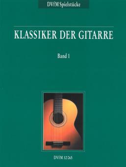 Klassiker der Gitarre Band 1