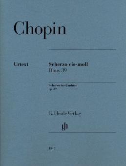 Scherzo cis-moll op. 39