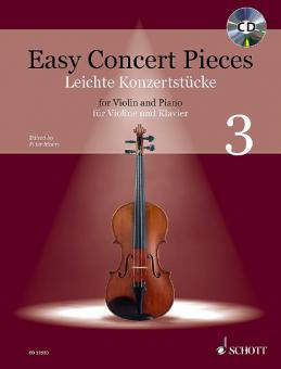 Easy Concert Pieces 3Standard