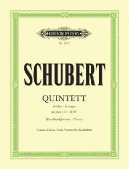 Quintet in A 'Trout' Op. 114/D667