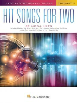Hit Songs for 2 Trumpets