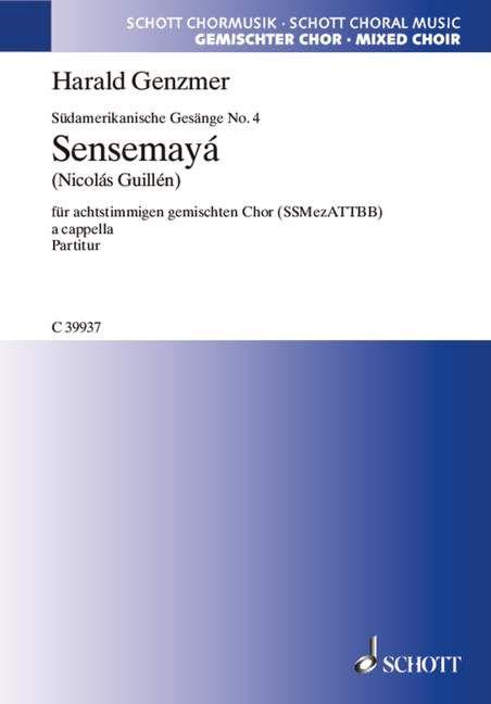 Sensemayá 'Die Kulebra hat Augen aus Glas' Download