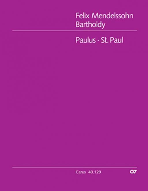 St. Paul op. 36 - Full Score