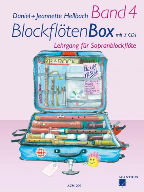 BlockflötenBox Band 4 (inkl. 4 CDs)