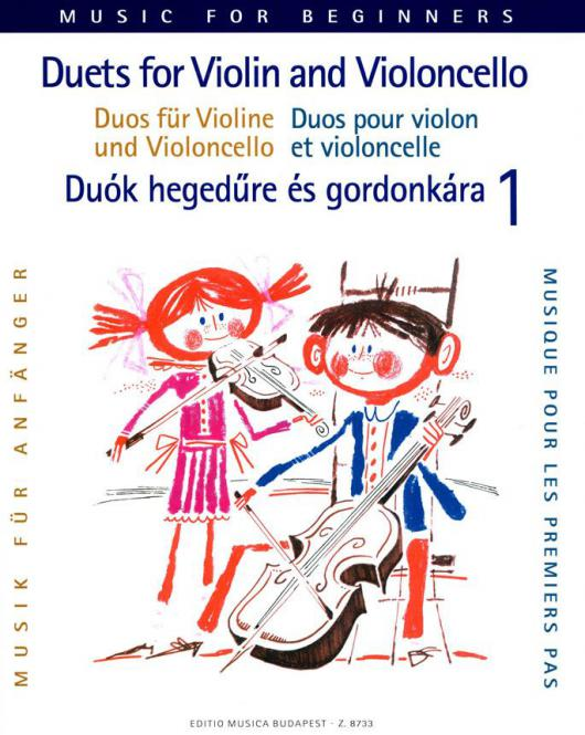 Duos for Violin and Violoncello for Beginners 1