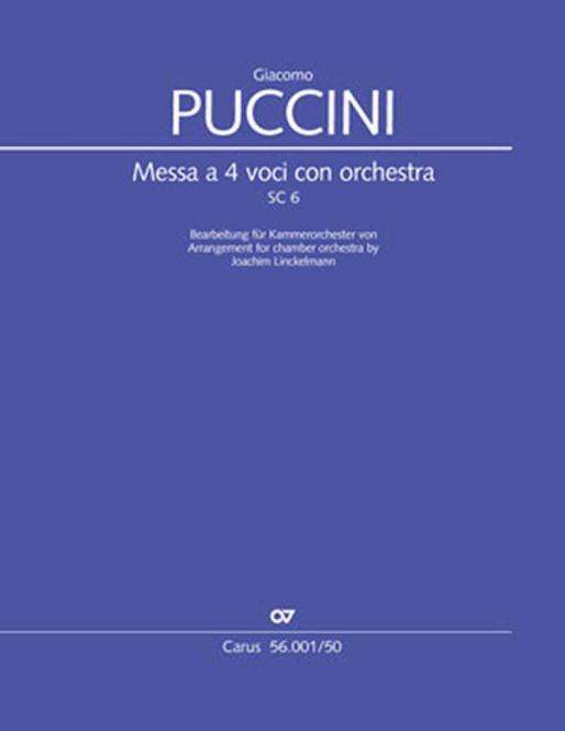 Messa a 4 voci con orchestra SC 6