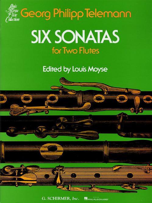6 Sonatas for 2 Flutes