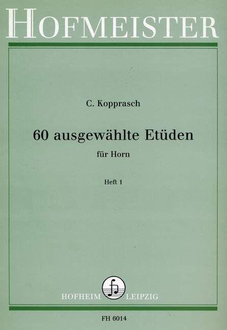 60 Studies for Horn Part 1