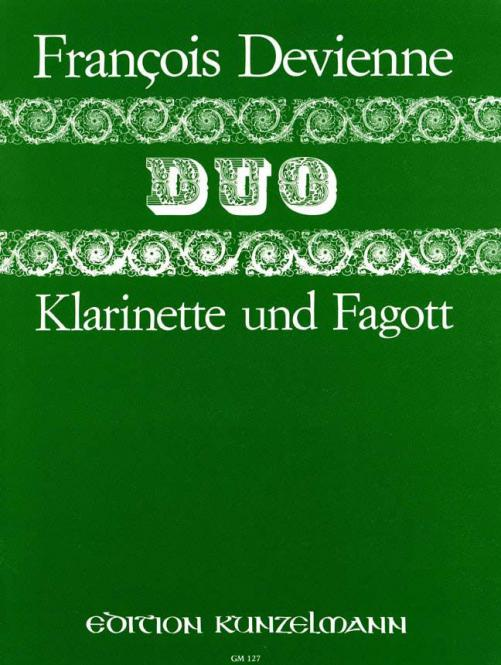Duo No. 6 for Clarinet & Bassoon