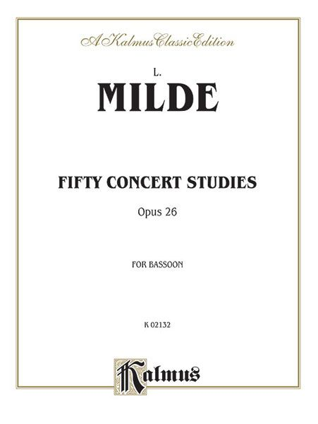 Fifty Concert Studies, Op. 26