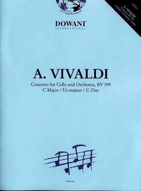 Concerto für Cello und Orchester, RV 399 in C-Dur