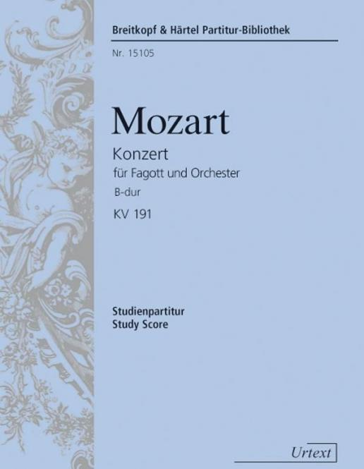Bassoon Concerto B Flat Major K.191