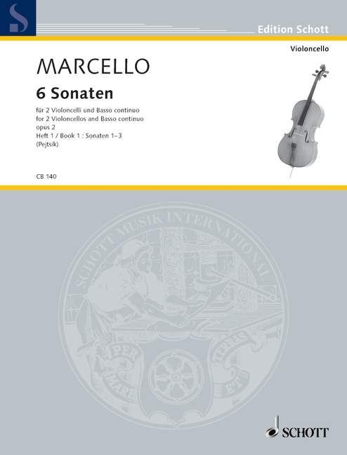 Six Sonatas Vol. 1 Standard