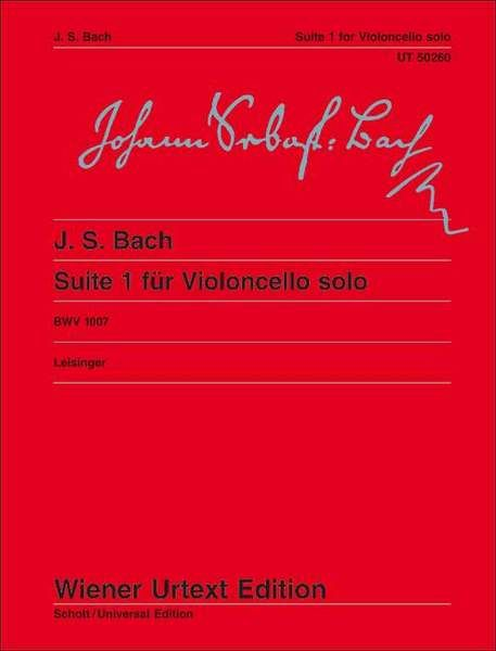 Suite I G Major BWV 1007