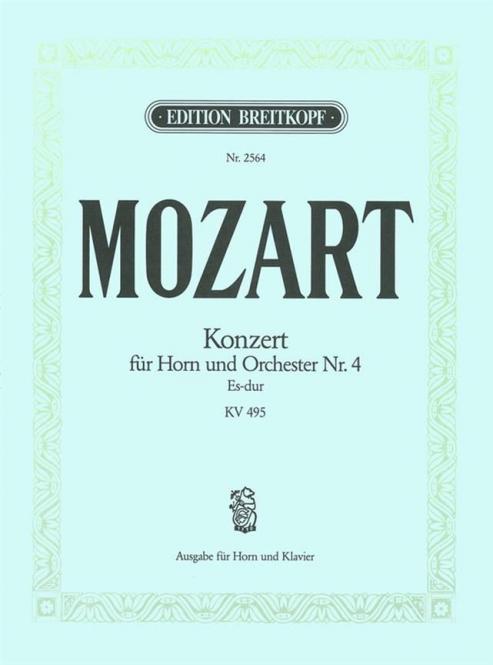 Horn Concerto E Flat Major K.495