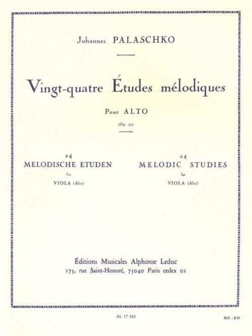 24 Etudes Melodiques