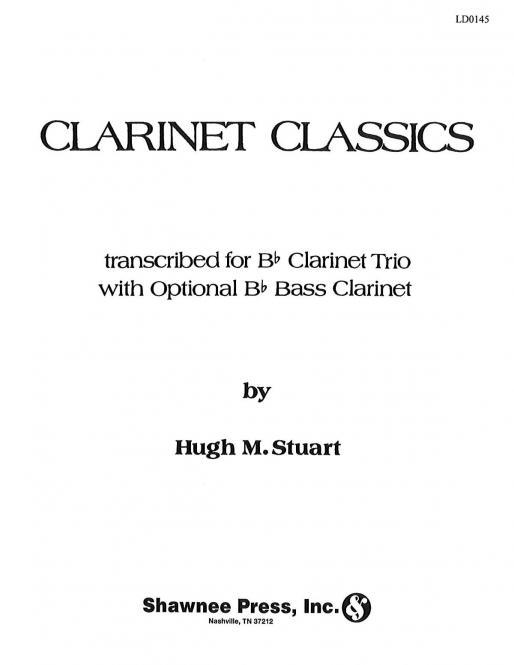 Clarinet Classics For 3 Clarinets (optional Bass Clarinet)