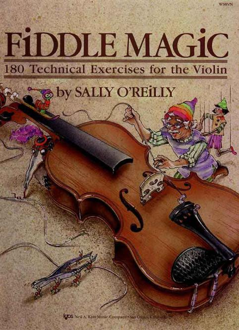 Sally O'Reilly: Fiddle Magic
