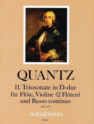 11. Triosonate in D-dur QV 2:10