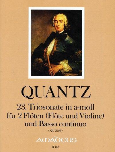 23. Triosonate in a-moll QV 2:40