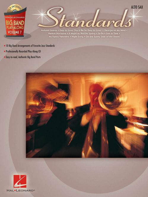 Big Band Play-Along Vol. 7: Standards for Alto Sax
