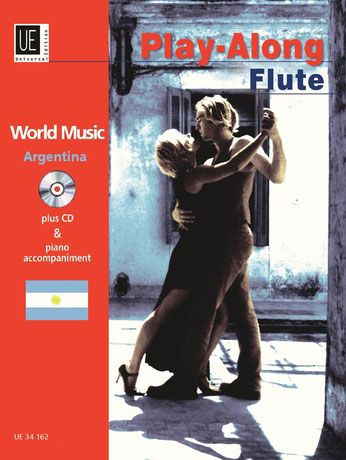 World Music-Argentina with CD