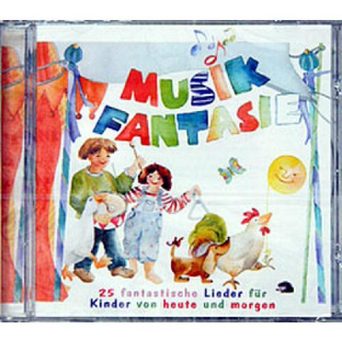 Musik-Fantasie: Lieder-CD