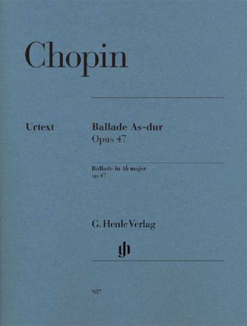 Ballade in A flat major Op. 47