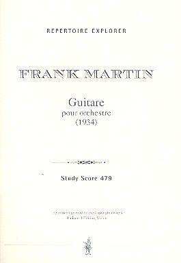 Guitare für Orchester (1934)