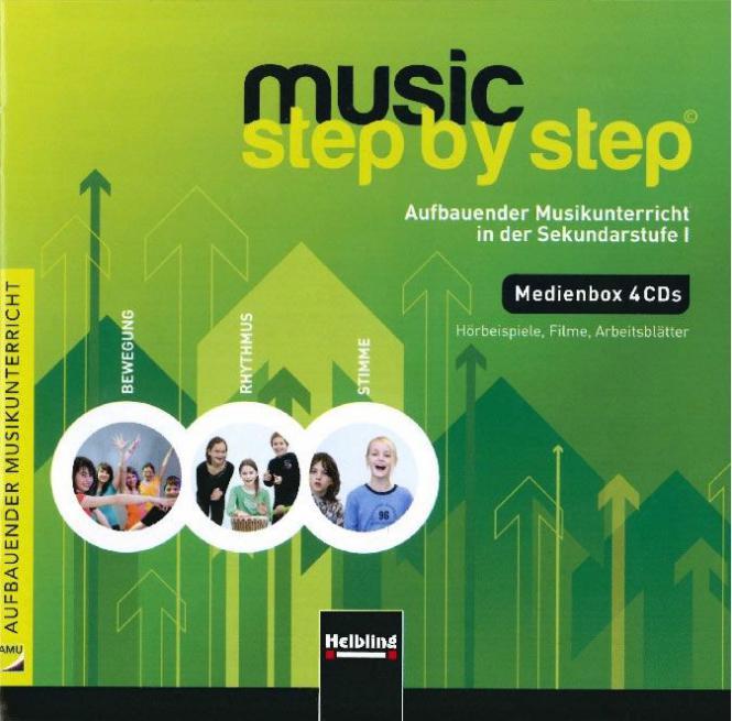 Music Step by Step 1 - Medien-Box (4 CDs)